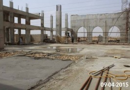 Bahria Town Karachi Masjid Work in Progress
