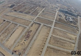 Bahria Town Karachi Overseas Block Precicnt 1 View form Height