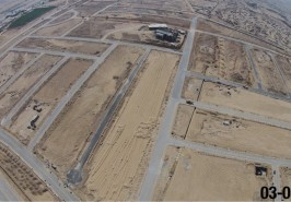 Bahria Town Karachi Overseas Block Precinct 1 Development from Height