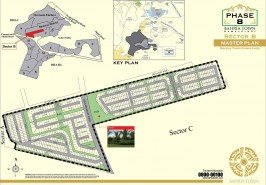 Bahria Town Phase 8 Sector B Map