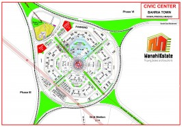 Civic Center Commercial Map