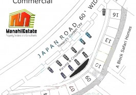 Bahria Town Center Point Commercial Map
