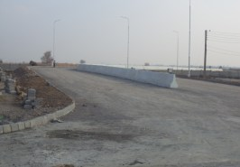 Constructed Part of Sangjani Interchange