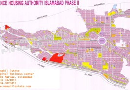 DHA Phase 2 Islamabad Map
