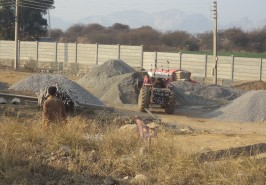 Sangjani Interchange Work in Progress