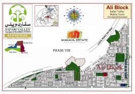 Ali Block Safari Valley Map