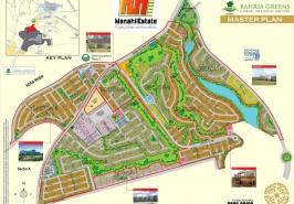 Bahria-Town-Overseas-Enclave-Map