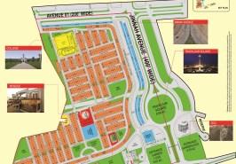 Bahria Town Karachi Precinct 1 Overseas Block Map
