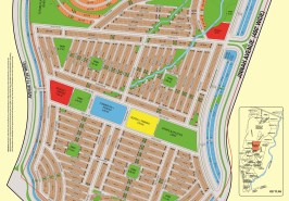 Bahria Town Karachi Precinct 12 Ali Block Map