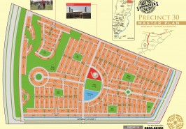 Bahria Town Karachi Precinct 30 Map
