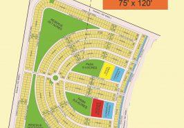 Bahria Sports City Karachi Precinct 39 Map