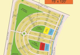 Bahria Sports City Karachi Precinct 39 Map