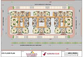 Samama 8th Floor Plan