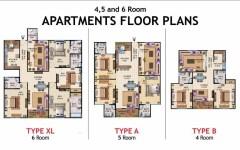 ASF Housing Scheme Karachi Apartments Layout Plan