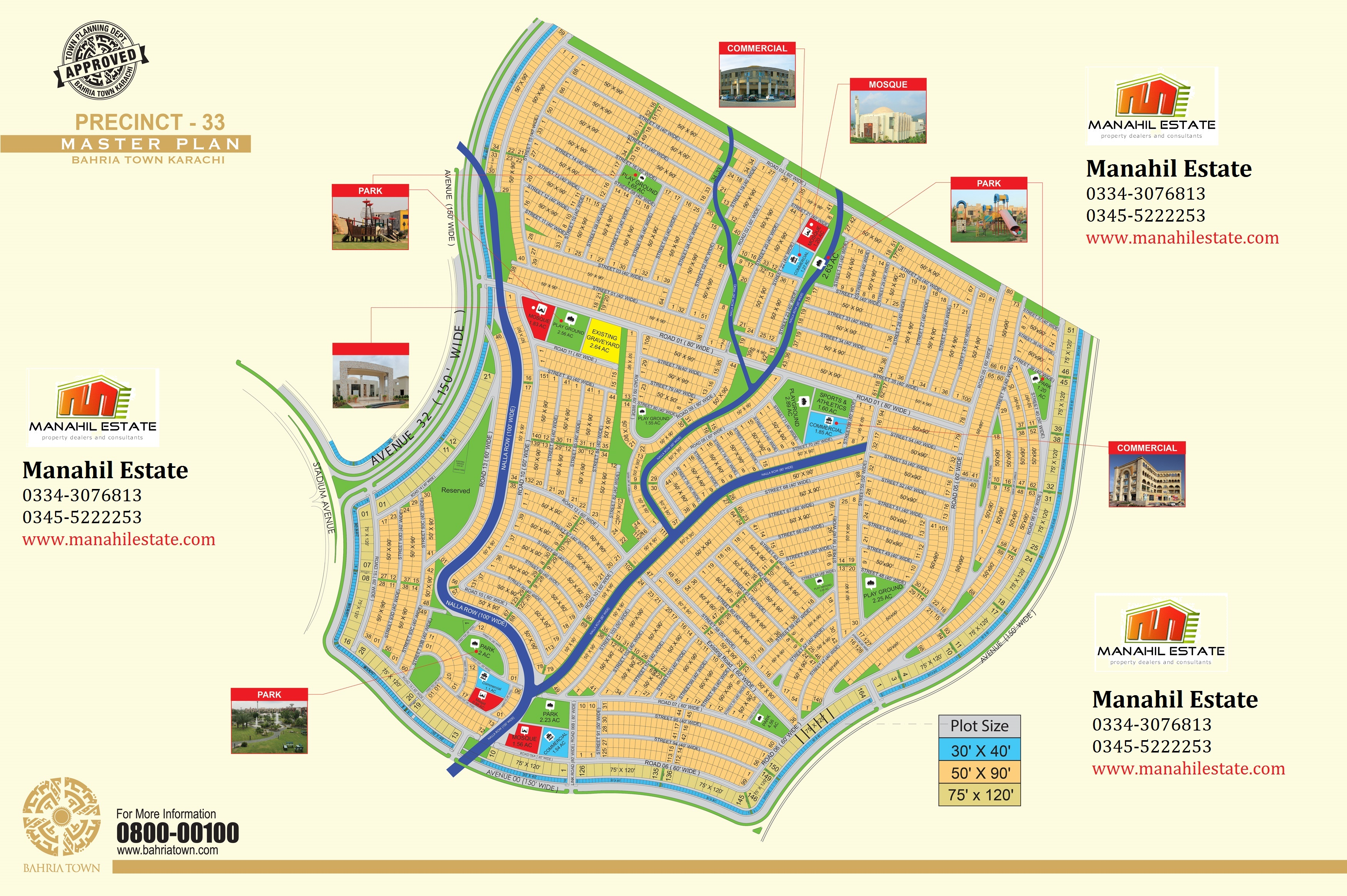 Bahria Town Karachi Revised Master Plan New Precincts Maps - Special report us precinct map