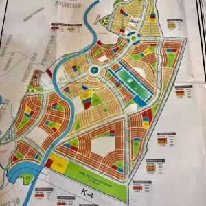Bahria Paradise Karachi Masterplan Map