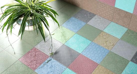 Beautiful Ceramic Tile Floor Design