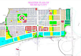 Mumtaz City Islamabad Map
