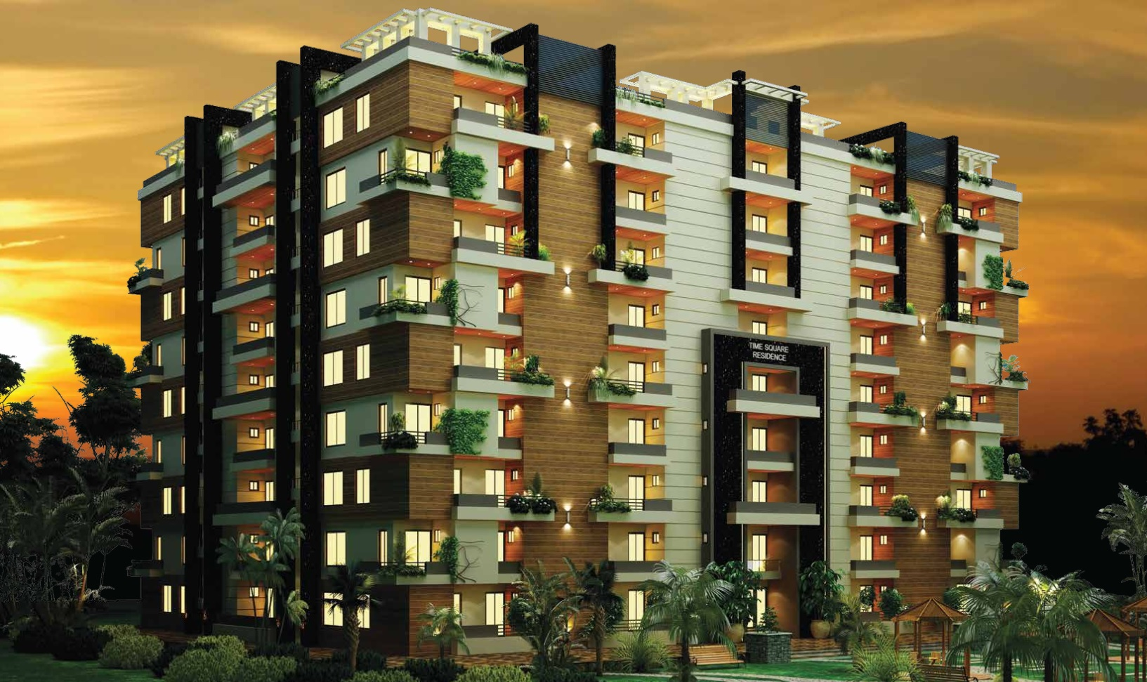 Time Square Residence Apartments Top City-1 Islamabad