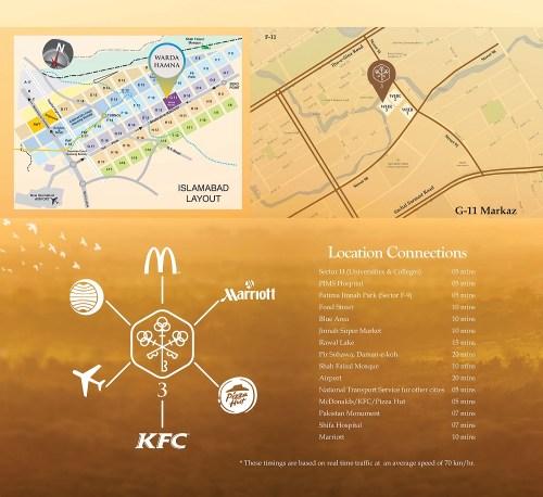Warda Hamna 3 Location Map
