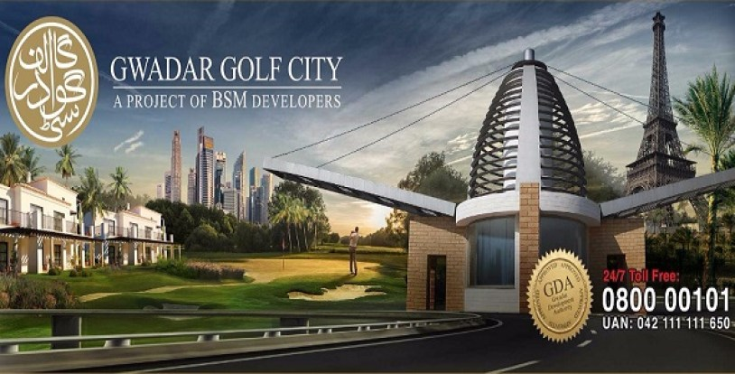 Gwadar Golf City by BSM Developers