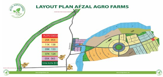 afzal agro farms master plan map
