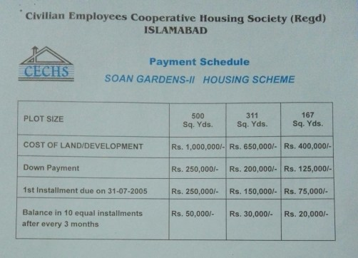 Soan gardens phase 2 installment plan
