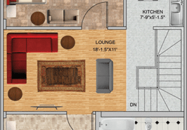 5M Floor Plan Contemporary A FF