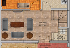 5M Floor Plan Contemporary A GF