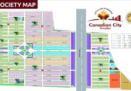 Canadian City Gwadar Map
