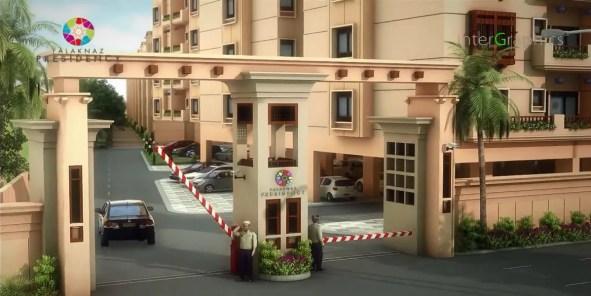 Falaknaz Presidency Karachi Front Gate