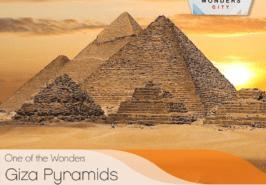 Giza Pyramids Seven Wonders City Karachi