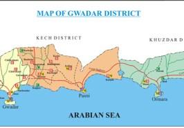 Gwadar District Map