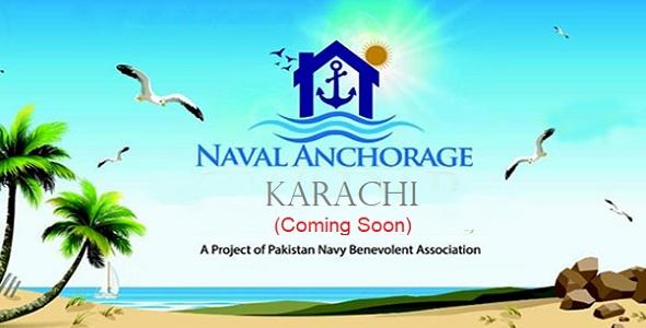 Naval Anchorage Karachi