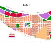 DHA Multan Sector I Map