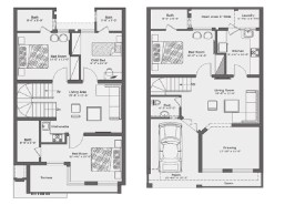 5 Marla Contemporary Villa Layout Plan
