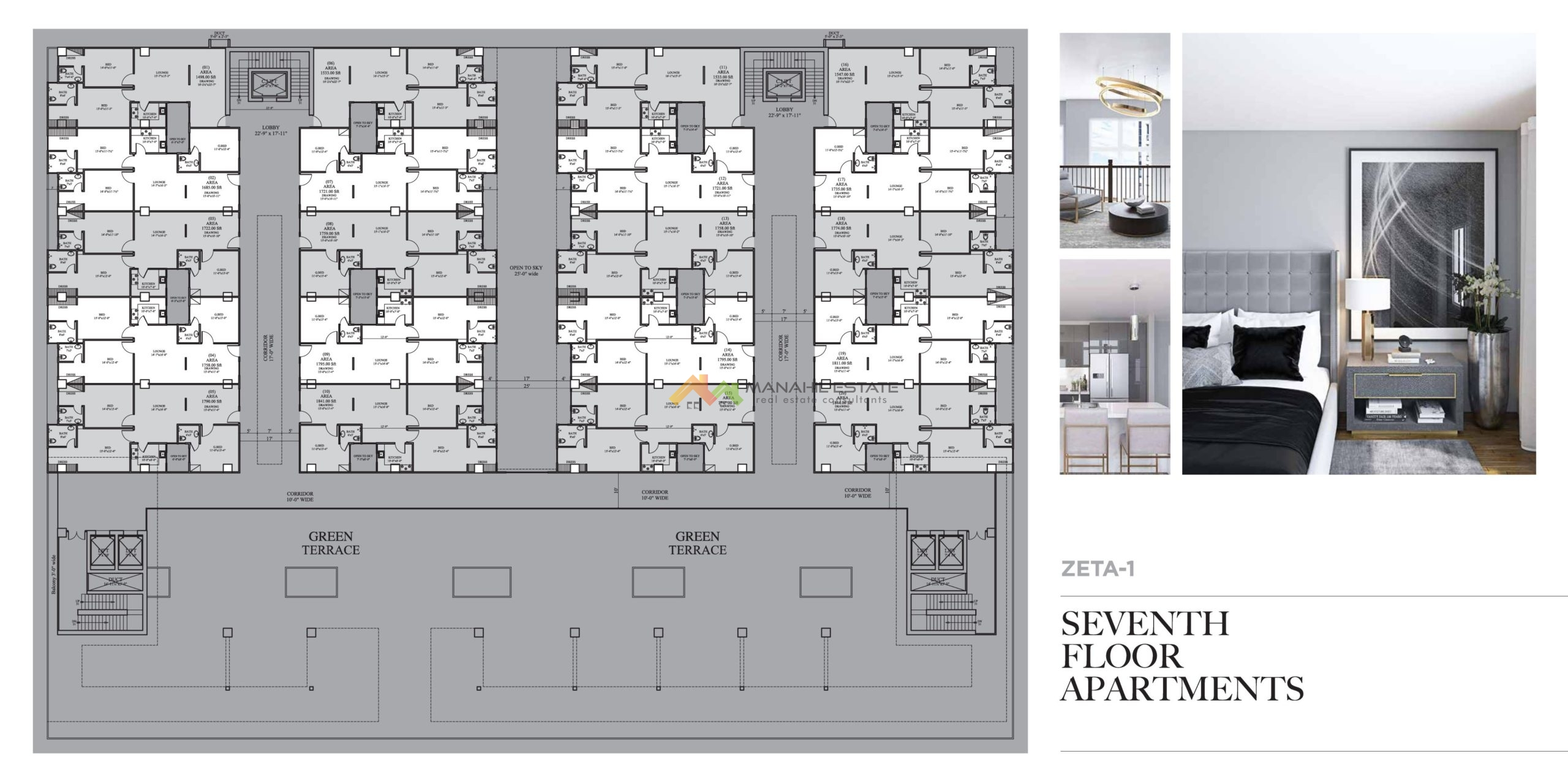 Seventh Floor Plan Apartments