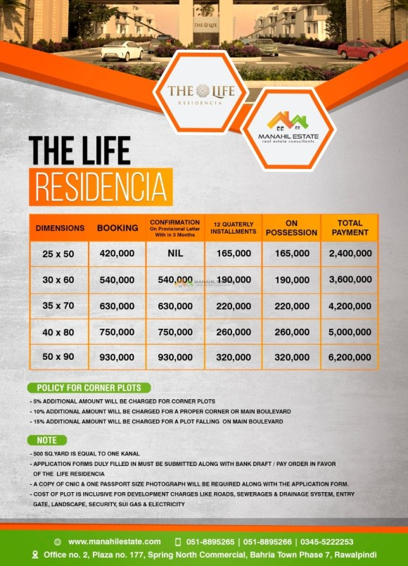 The Life Residencia Payment Plan