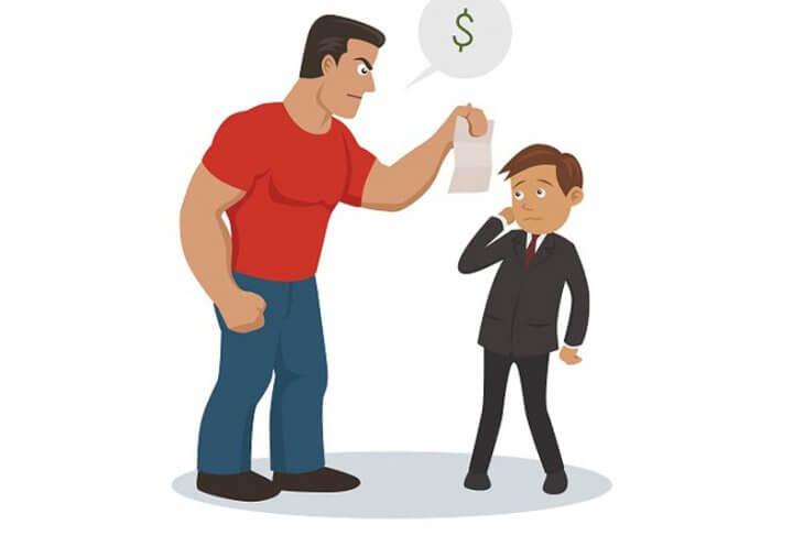 Dikejar debt collector