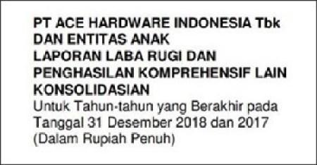 Contoh laporan keuangan perusahaan tbk - bahasa indonesia
