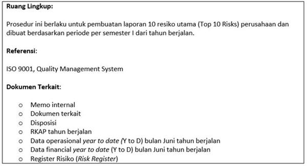 SOP Risk Management - utama