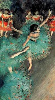 "Degas' ""The Swaying Dancer"" at the Museo Thyssen-Bornemisza"