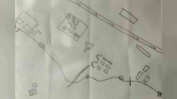 Terrorists sketch on may 23 to attack airbases