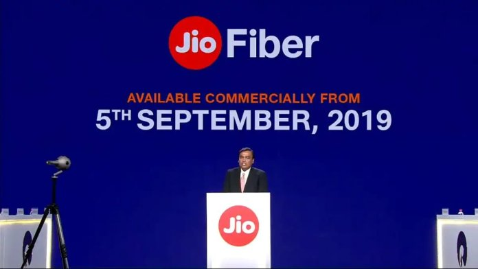 jio gigafiber will be available from september 5th 2019