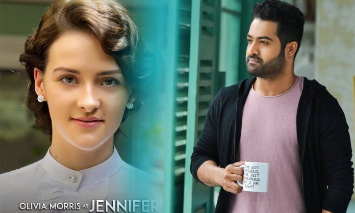 hollywood beauty Olivia Morris romance with jr ntr in rrr Movie
