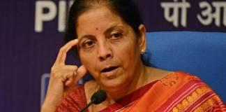 central minister nirmala sitaram fires on ap politics