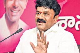 minister talasani srinivas yadav fires on bjp