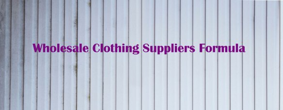 Getting into the clothing business can be very tricky. We always advise new internet marketers to make good use of wholesale clothing suppliers offering low prices and superb qualities. You can save a lot of money by starting your clothing business by purchasing low-cost clothing from reliable suppliers. Most of these suppliers are establishing their businesses in Asia, so the manufacturing and handling costs are generally cheaper. Prior to you go deeper into the business, you need to know how to properly plan and deal with the business. That's where low-cost formula kicks in; there is a certain solution you can use to ensure the business stays profitable at all times. You can also use the formula to evaluate and choose some of the best wholesale clothing suppliers to support your business and provide you with merchandises. The formula consists of seeing the overall costs of wholesale purchase. You may be tempted discovering the wholesale prices for clothing items available, but don't jump in the purchase just yet since you will have other cost factors you will need to consider. Keep in mind that merchandises need to be shipped to where you are as well. The shipping and handling costs must be included in the formula if you are keeping track of the profitability of your supplier. Overhead is another aspect you need to take into considerations when assessing the business. Generally, there are costs such as electricity, phone, marketing, and operational costs you also need to take into considerations. These costs impact how profitable you can be when running your business. Now that you already know the additional two factors, you can just compute the actual wholesale basic costs of your merchandises. If you buy t-shirts for $2 per part with $3 shipping and handling costs and you know the overhead cost of your business (divided by the number of shirts you want on selling) is $2, then you know that the real cost of goods sold (COGS) is twice the total cost or 2 x $7 for 