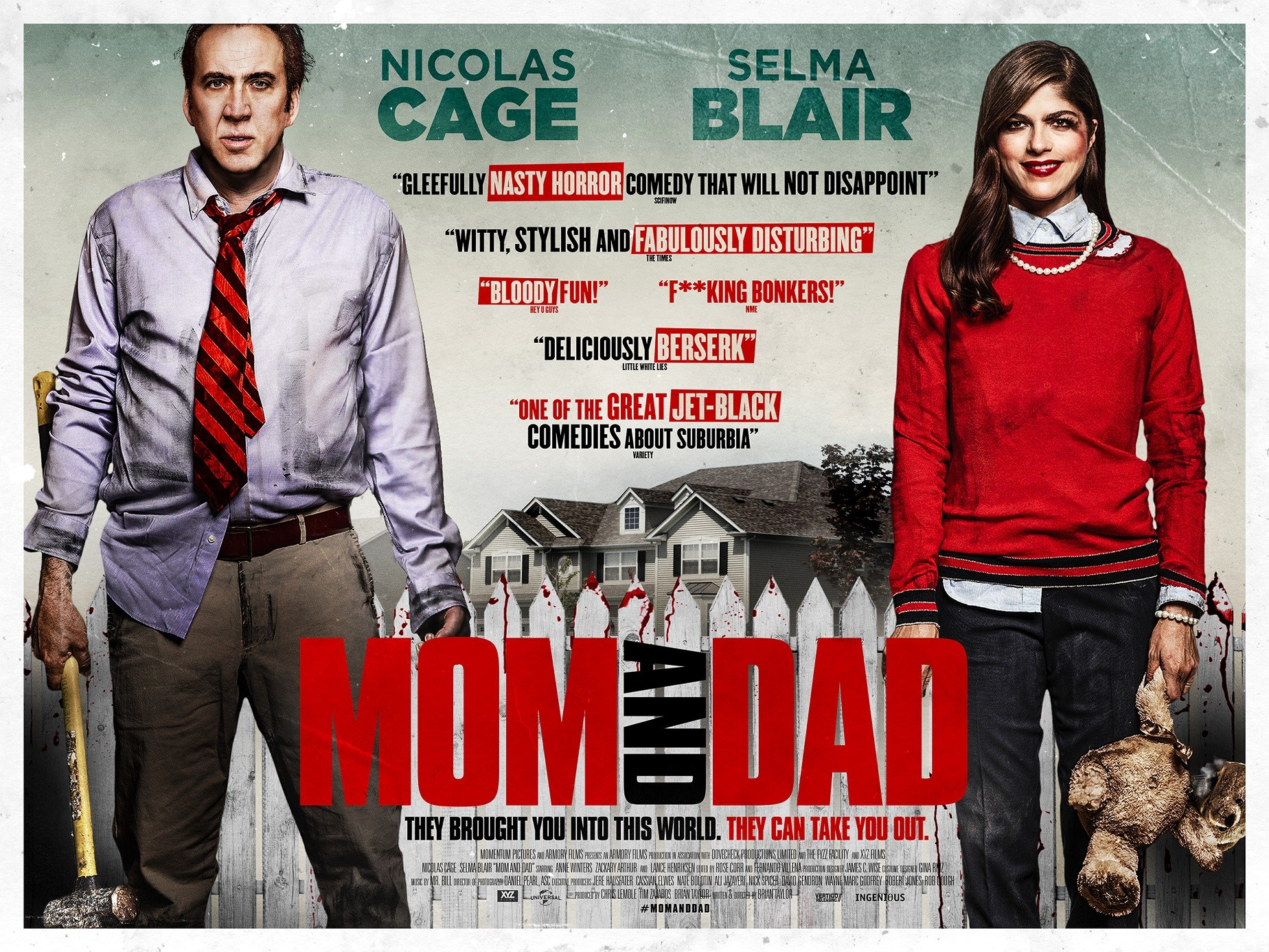 Image result for mom and dad film poster