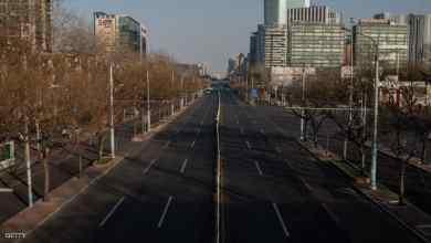 شوارع فارغة في بكين